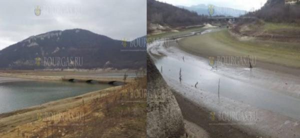 """Озеро в """"Цонево"""" продолжает высыхать"""