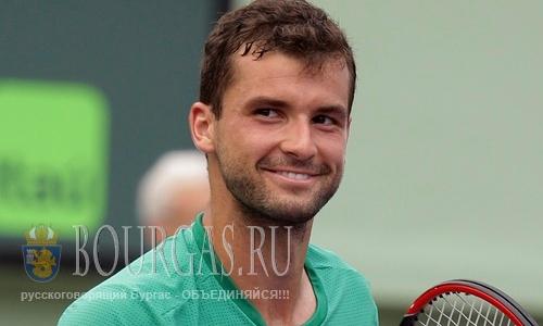 Григор Димитров стартует на турнире в Пекине