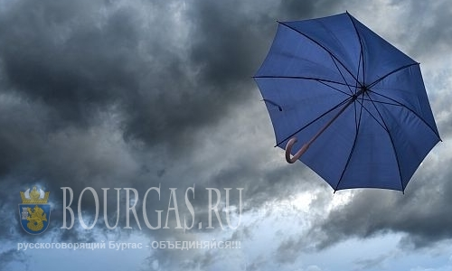 Болгария погода — надуло Желтый код