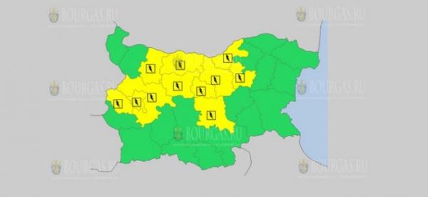 6 мая в Болгарии — ветреный и дождливый Желтый код опасности