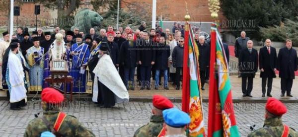 6 января 2020 года, в Иорданов день — в Болгарии освятили флаги болгарской армии