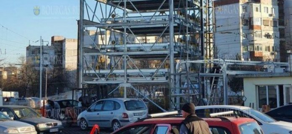 В Пловдиве заработал первая модульная автостоянка