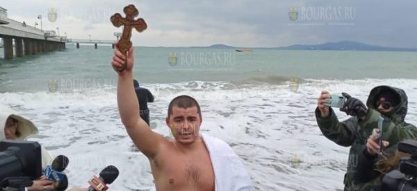 Яким Георгиев спас крест в Бургасе