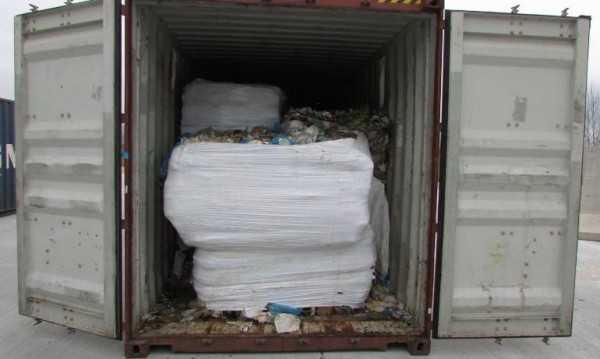 Итальянский мусор отправится из Варны обратно