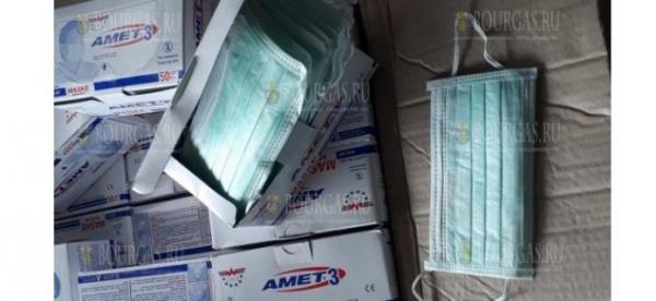 Таможенники из Малко Тырново задержали контрабандные медицинские маски