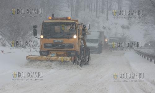 Зима пришла в Болгарию