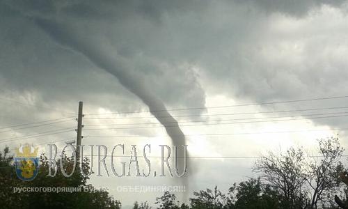 По Болгарии прокатились настоящие торнадо