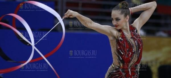 Две бронзовые медали Боряны Калейн на ЧЕ по художественной гимнастике в Баку
