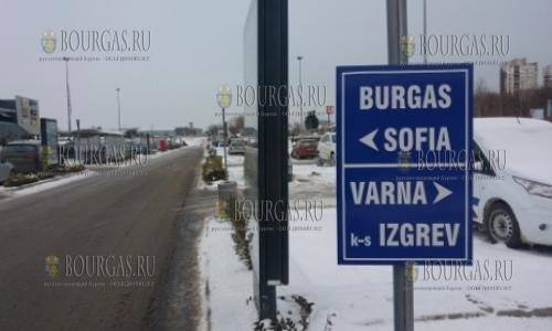 Автомагистраль Тракия в Бургасском регионе закрыта