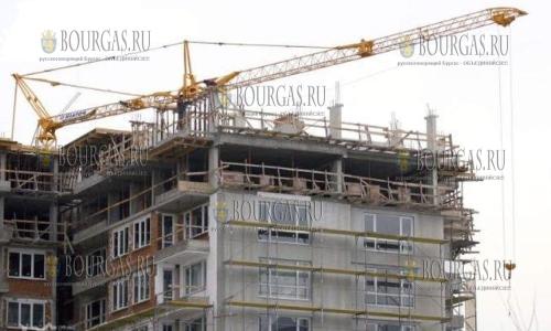 В Болгарии снова зафиксировано снижение объемов строительства