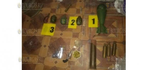 Полиция открыла боевой арсенал в доме под Варной