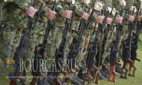 Болгарские военные выступили на охрану госграницы