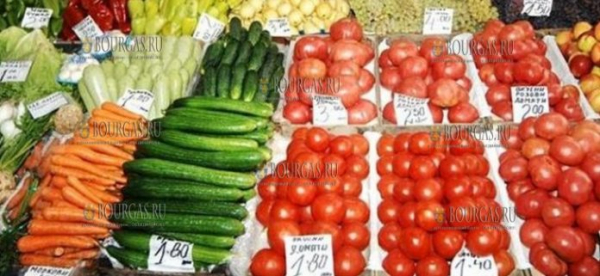 В Болгарии дешевеют помидоры и дорожают огурцы
