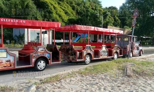 В Варне автопоезд будет возить туристов