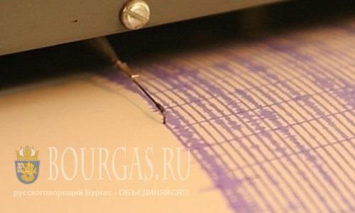 Землетрясение в Болгарии