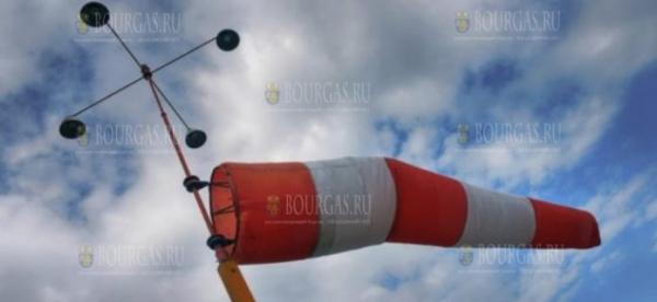 Сегодня ветер в Болгарии разгонялся до скорости свыше 140 км/ч
