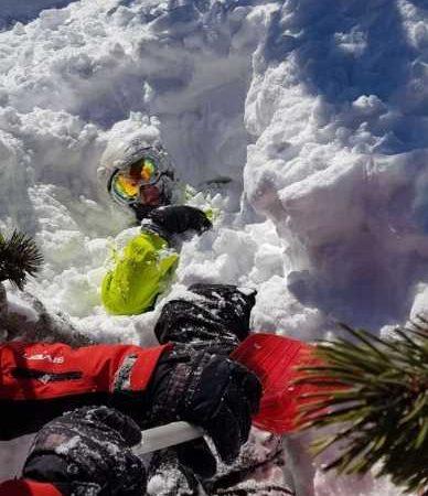 В горах Пирин спасли из-под лавины русского туриста