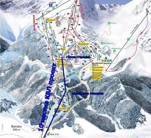 На горнолыжной трассе в Банско погиб турист
