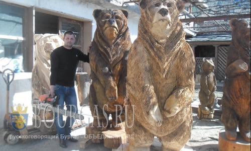 В Болгарии есть свои народные скульпторы-самородки