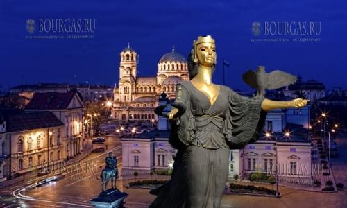 Столица Болгарии София — празднует День Города