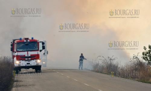 В некоторых районах Болгарии объявлен пожароопасный сезон