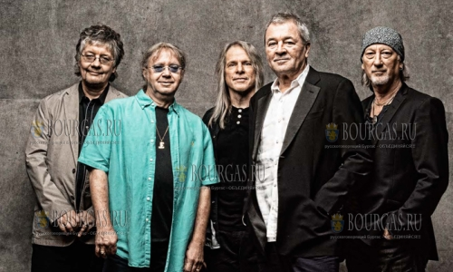 Deep Purple снова в Болгарии