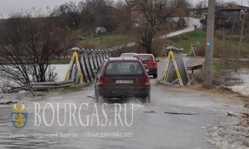 Уровень воды в реках и водоемах Софийской области растет на глазах