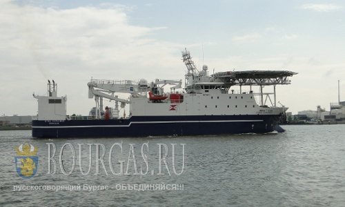 В Бургасе ждут научно-исследовательское судно «Stril Explorer»