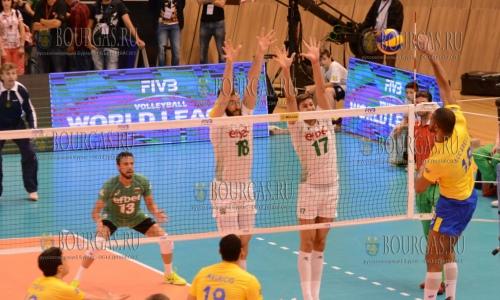 Болгарские волейболисты уступили сборной России в Лиге наций