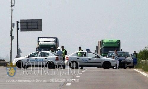 Погоня с мигалками, так сегодня в Болгарии ловят нелегалов