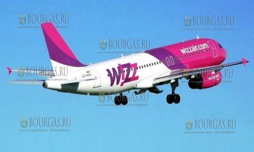 Wizz Air запускает новый авиарейс из Бургаса в Вену
