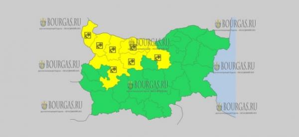5 декабря в Болгарии — скользкий Желтый код опасности