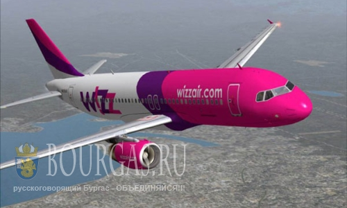 Wizz Air соединит Болгарию и Грузию