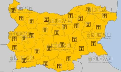 10 августа на всей территории Болгарии — горячий Оранжевый код опасности