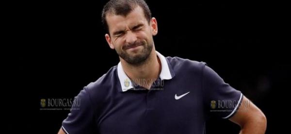 Григор Димитров покидает турнир в Роттердаме