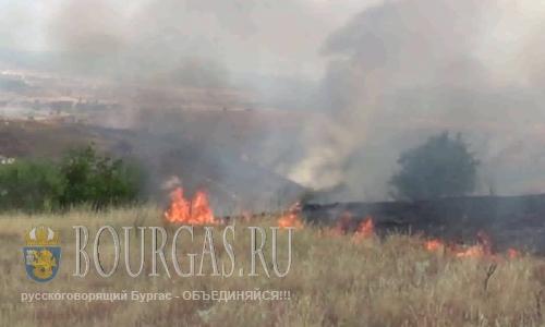 Пожароопасность в Болгарии снова под Красным кодом