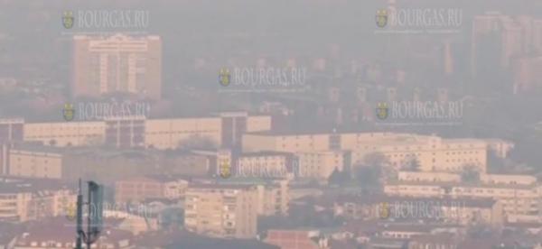 Пыль из пустыни Сахара зависла над Болгарией