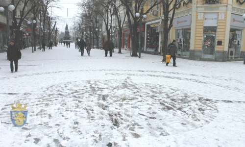 Бургас погода — в Бургасе выпал первый снег