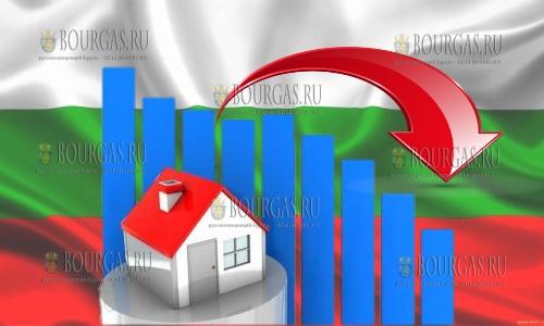 В Болгарии снова падают объемы продаж на рынке недвижимости
