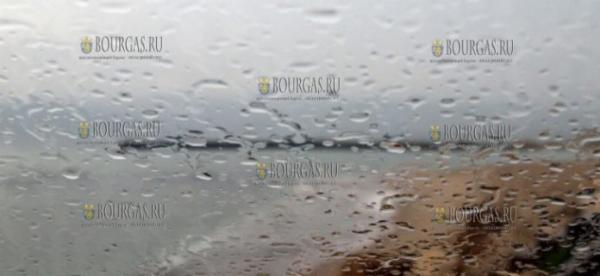 В Болгарии сегодня прошли грозовые дожди, кое где выпал град