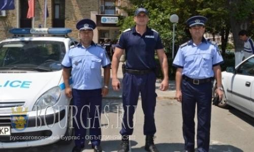 Румынские полицейские отправляются на Пасху в Варну