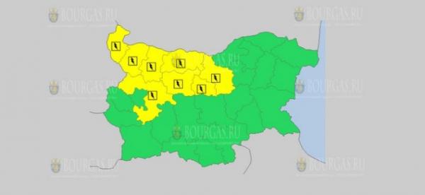 На 20 мая в Болгарии — грозовой Желтый код опасности