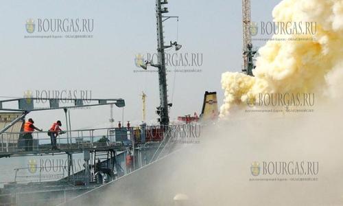 На российском танкере, который зашел на ремонт в Варну, произошел взрыв