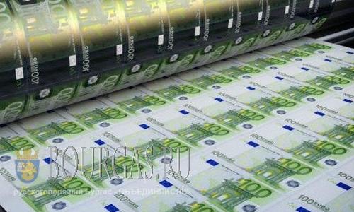 В Болгарии снова появились фальшивые евро