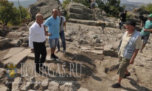 Археологи в Болгарии обнаружили фракийский золотой храм солнца