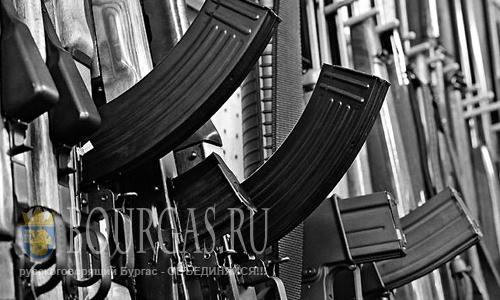 В Варне нашли целый арсенал оружия