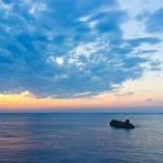 Рассвет на море. Пейзаж