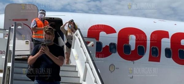 Сегодня первые туристы из ЕС прибыли на отдых в Болгарию