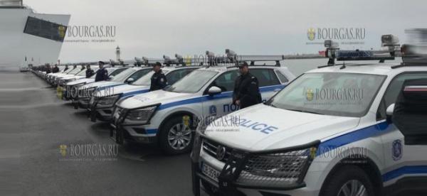 Спецслужбы в Бургасе получили 73 новых авто повышенной проходимости