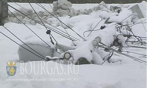 Около 30 населенных пунктов в Болгарии остались без электроэнергии